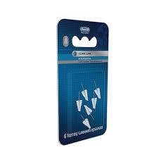 Ершики зубные, Орал-би Про-эксперт Клиник лайн сменные конические интердентальные для межзубной щетки №6 3.0/6.5мм
